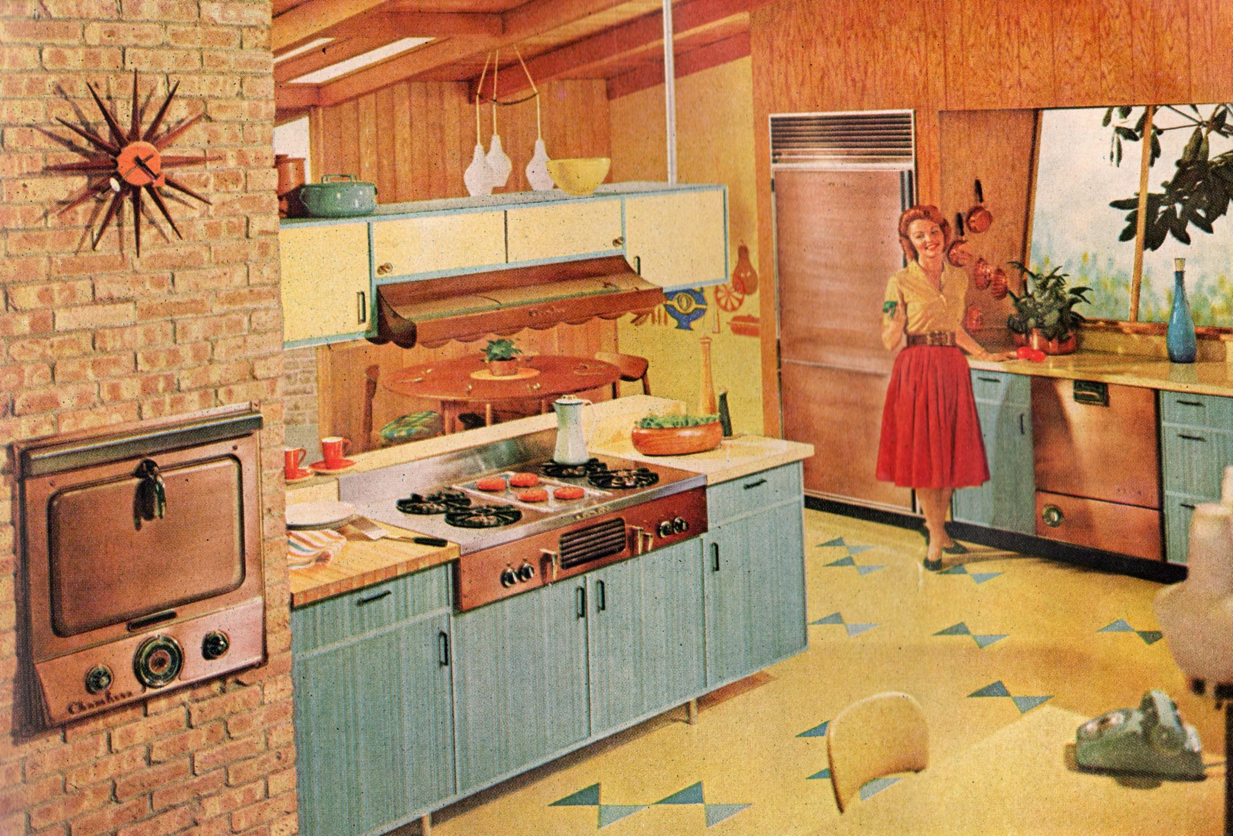 Retro Kitchen of the Future